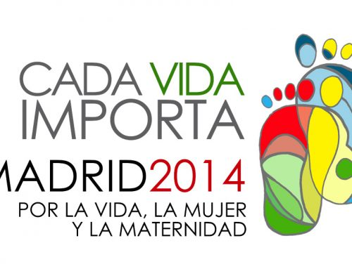 Manifestación el 14 de marzo bajo el lema CADA VIDA IMPORTA